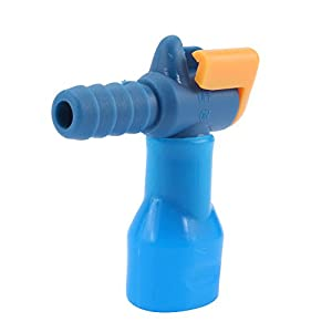 Yosoo 90 Degree Straight Silicone Bite Valve Hydration Pack Nozzle Bladder Blue