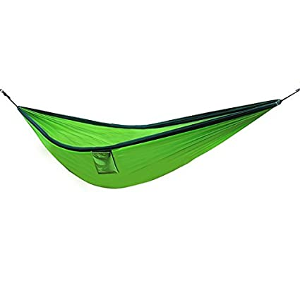 PVS Outdoor Parachute Nylon Cloth Camping Portable Double Person Hammock 300 * 200 cm-Parent