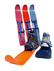 High quality youth and junior short skis for training and play. Highly recommended entry level skis which offer transferrable skills for downhill, cross country skiing, ski jumping, ice skating.                The ideal skis f...