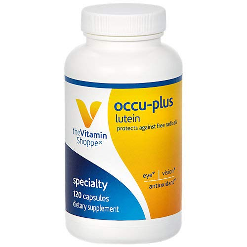 OccuPlus Lutein (120 Capsules) by The Vitamin Shoppe by The Vitamin Shoppe (Image #2)