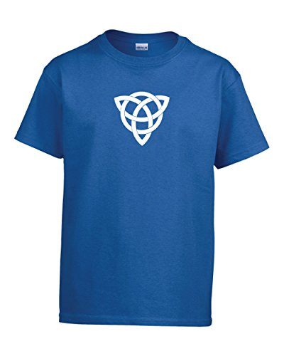 ShirtLoco Boys Celtic Knot Youth T-Shirt, Royal Blue Extra - Uk Rlx