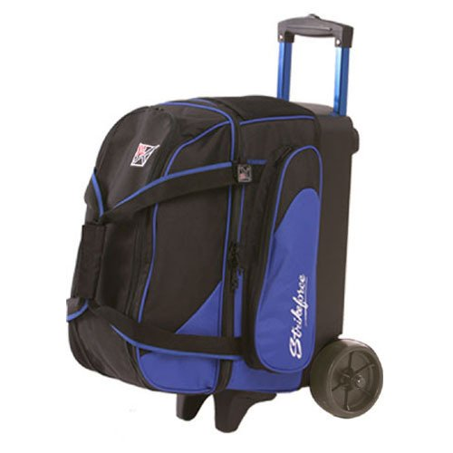 Image of Bowling Roller Bags KR Strikeforce Flush Double Roller Bowling Bag, Royal