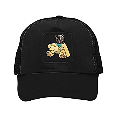 Animal Theme Hats Bear Fashion Trucker Twill Mesh Adjustable Cap