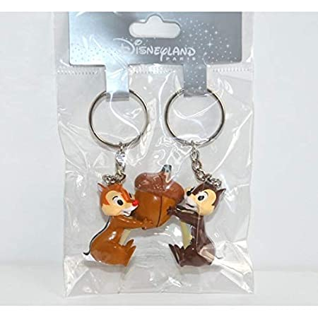 Amazon.com: Disneyland Paris Chip and Dale Magnetic Key Ring ...