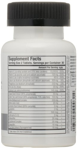 MenScience Androceuticals Advanced Antioxidants Daily Supplement Discount