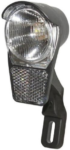 Luz delantera para bicicleta led, dinamo-botón de parada-cable ...