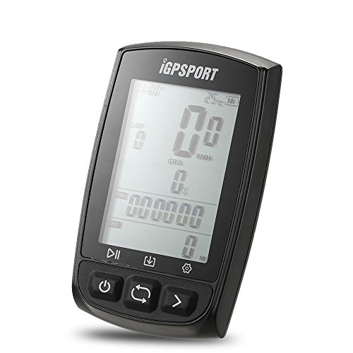 Lixada iGPSPORT GPS Cycling Computer Rechargeable IPX7 Water Resistant Anti-glare Screen Bike Cycling Cycle Bicycle GPS Computer Odometer with Mount For Sale