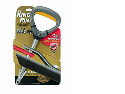 Lawn Spreader Drop (Good Vibrations 150 King Pin Lawn Mower Quick Connect Hitch Pin)