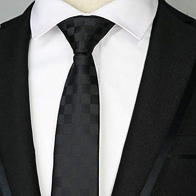 WOXHY Corbata de los Hombres 44 Colores nuevos 6 cm Hombres ...