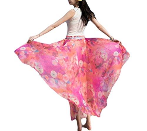 COMVIP - Falda - Ajustada - para mujer Rosa