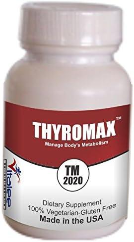 Amazon Com Thyromax 2020 Thyroid Supplement Capsule 60ct