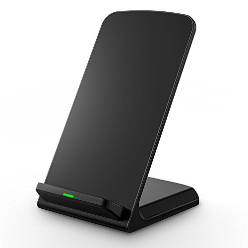 Seneo 3-Coils Wireless Charger Pad with LED Indicator Light for QI-Enabled Devices