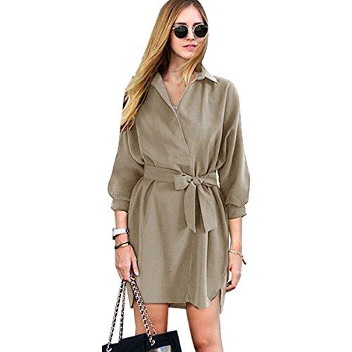 Buy belted coat dress - 6