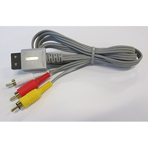Composite AV Cable for Nintendo Wii by Mars - Multi Out Cable