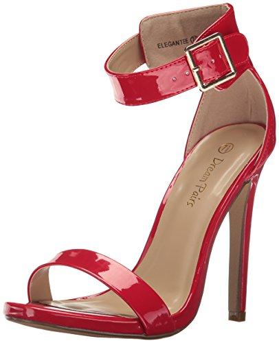 Sognare Coppie Donne Pompa Vestito Elegantee Vernice Rossa