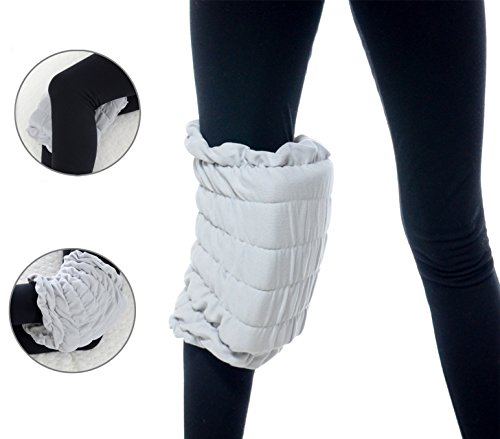 Milliard Wearable Knee Cushion | Pull-On Pillow Stays in Place | Removable Washable Cotton Cover