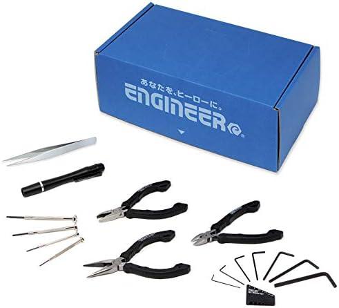 エンジニア(ENGINEER) 手提げBOX入り工具セット(精密作業用) EB-01A 奥行15×高さ10.5×幅27cm 10個入
