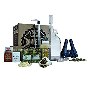 Northern Brewer – 1 Gallon Craft Beer Making Starter Kit, Equipment and Beer Recipe Kit