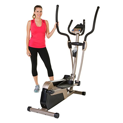 Exerpeutic 5000 Magnetic Elliptical Trainer with Double Transmission Drive