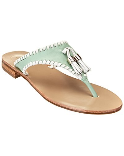 Jack Rogers Women's Alana Dress Sandal Mint/White popular cheap price buy cheap Manchester XQdOHgbBM