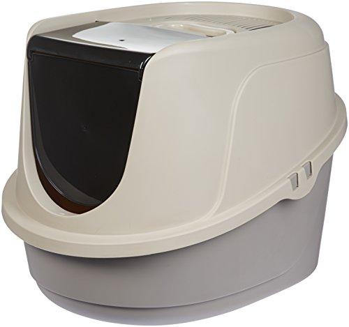 AmazonBasics-Hooded-Cat-Litter-Box