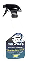 Gel Coat Labs Marine & Boat Yellow Stain and Rust Remover, 32 fl. oz.