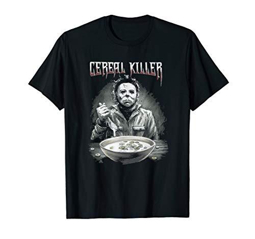 Funny Cereal Killer Breakfast Lover Novelty Gift T-shirt ()