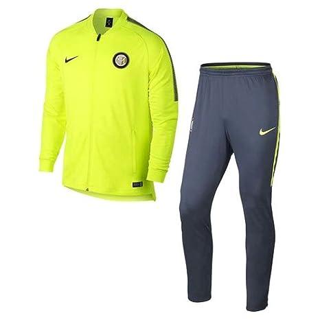 Nike Inter M Nk Dry Sqd TRK Suit K Chándal Milan, Hombre: Amazon ...