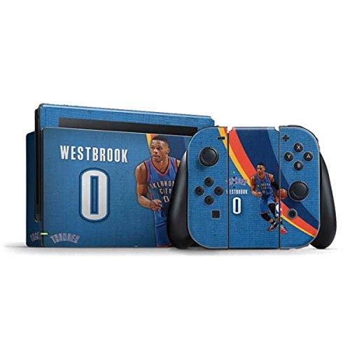 Oklahoma City Thunder Nintendo Switch Bundle Skin - Russell Westbrook OKC Thunder Action Shot | NBA & Skinit Skin by Skinit