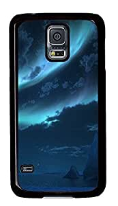 personalize Samsung S5 cover Antarctica Landscape 3D PC Black Custom Samsung Galaxy S5 Case Cover