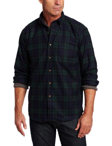 Pendleton Men's Fireside Shirt,Black Watch Tartan,Medium