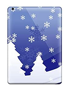 Hot Sanp On Case Cover Protector For Ipad Air (vector Christmas Design)