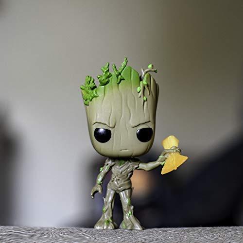 Funko POP! Marvel: Avengers Infinity War - Groot with Stormbreaker -,Multicolor