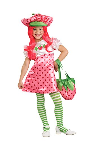 Deluxe Strawberry Shortcake Costume - Toddler - Deluxe Strawberry Shortcake Wig For Women