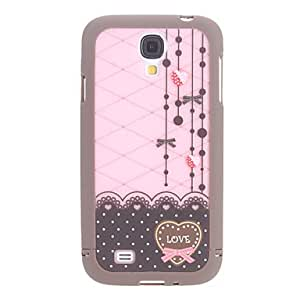 Exquisite Design Heart-Shaped Pattern 3 in 1 Bumper and Back Case for Samsung Galaxy S4 I9500