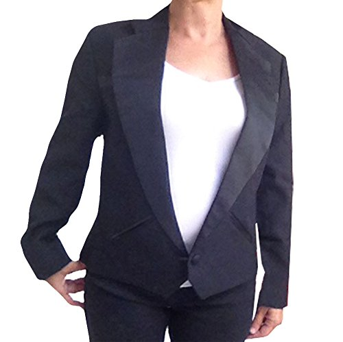 (Womens Texas Tuxedo Jacket, Cropped Western Style (14))
