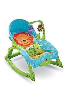 """Baby Gear - Hamaca """"Multiposiciones Planeta"""", juguete con sonido (Mattel T4145)"""