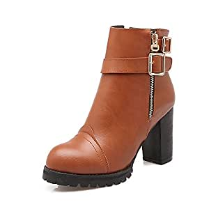 Amazon.com: WIKAI Women's Boots Fashion Boots Leatherette