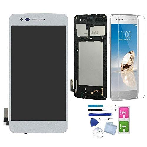 XR MARKET Compatible LG K8 2017 Screen Replacement, LG Aristo LCD Display Touch Digitizer Assembly, for M210 M200N MS210 + Tools + Screen Protector (Silver - Lcd Lg Screen Replacement