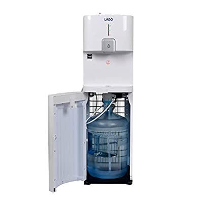 Lago CLBL200 Bottom Load Hot, Cold & Room White Water Cooler Dispenser