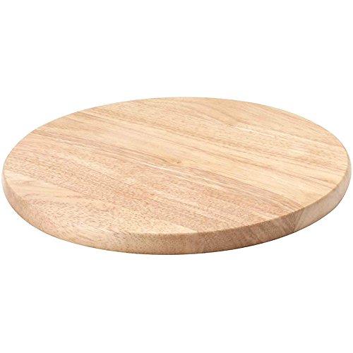 Kesper Beech Round Chopping Board, Wood, Brown, 22 cm 68033