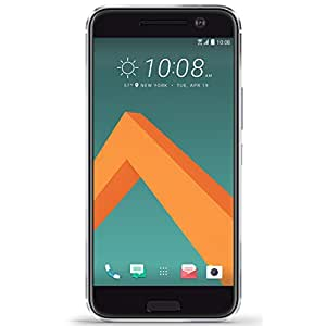 "HTC 10 Glacier Silver, 5.2"" 12MP 32GB - T-Mobile (Certified Refurbished)"