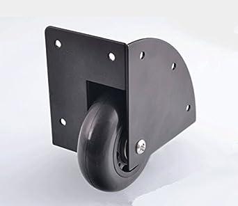 Heavy Duty empotrable Caster ruedas Hardware caja de viaje para armario caja de herramientas muebles, rueda Dia. 2,5 pulgadas, pack de 2: Amazon.es: Amazon. ...