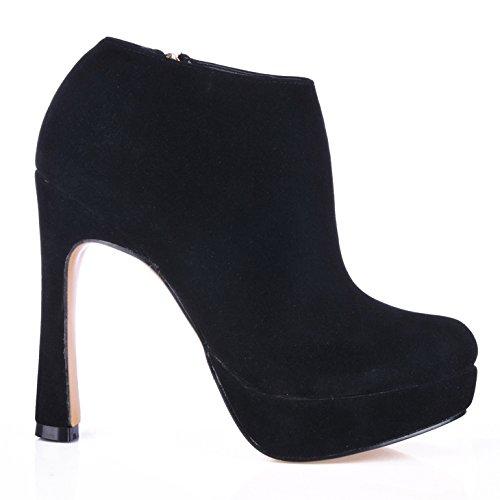 Un Rouge Étanche Ronde Satin Haut Talon Côté Femmes Tête Sol Nouveau Chaussures Boot Desktop Ladies Sur À Noir Black Zip Sexy wPOTqTS8X