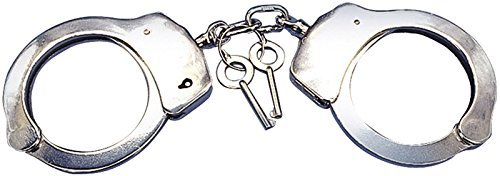 comprar barato Loftus International Police Handcuffs with with with Keys Costume Accessory, One Talla, plata by Loftus International  Esperando por ti