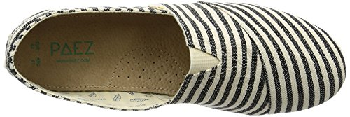 Paez Men's Original-Surfy Espadrilles, Green Multicolour (Alaska 002)