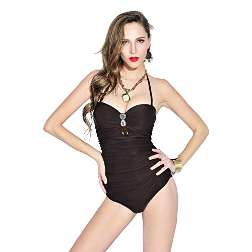 SW99054C1 Nylon Women's Bikini Swimsuit Size XXL