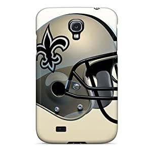 Shockproof Hard Cell-phone Case For Samsung Galaxy S4 (ONa14525tnxw) Unique Design Fashion New Orleans Saints Pictures