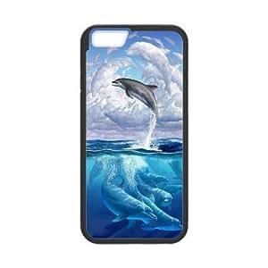 Diy Cute Dolphin Phone Case Cover For LG G3 Black Shell Phone JFLIFE(TM)