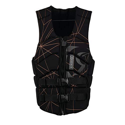 Ronix Kinetik Armor Foam - Impact Jacket - Black/Copper - S (2019) by RONIX